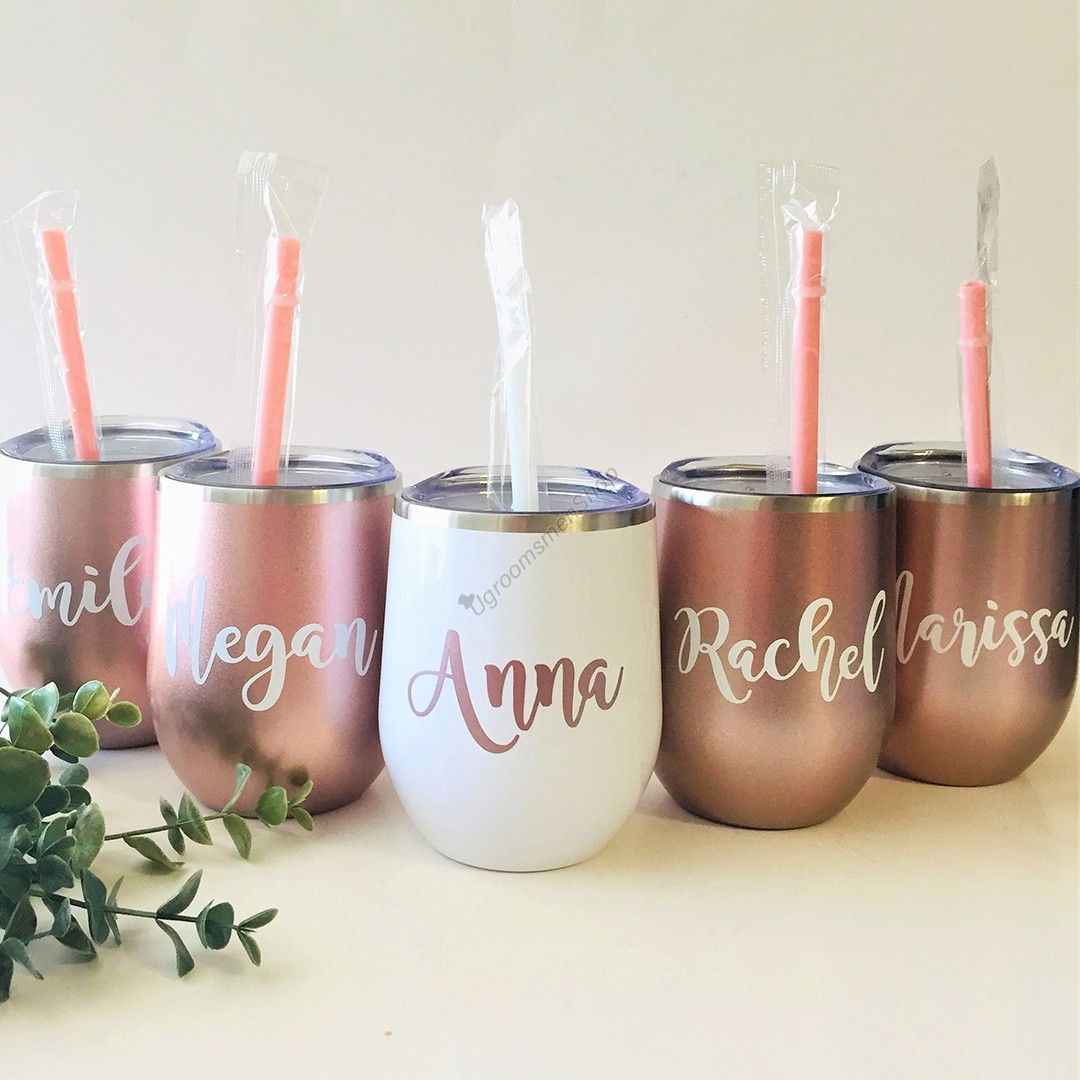 Personalized Bridesmaid Gift Tumbler