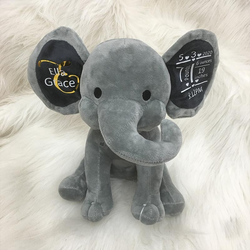 Elephant Baby Shower Gift