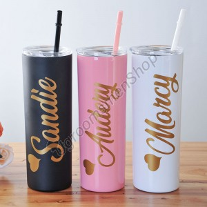 Bridesmaid Gift Ideas Personalized Tumbler
