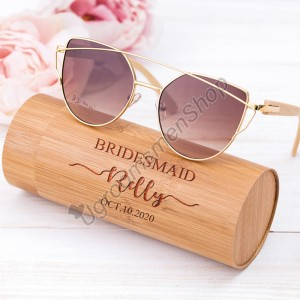 Personalized Bridesmaid Sunglasses Gift