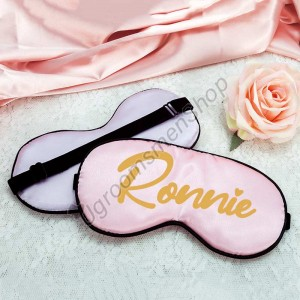 Custom Satin Sleep Eye Mask